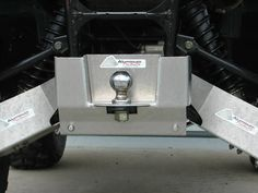 Ricochet Off-Road 4 PC A-Arm /& CV Boot Guard Set 2002-08 Yamaha Grizzly 660