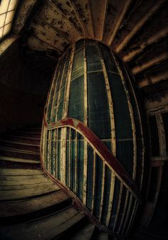 Spiral Staircase -- Abandoned