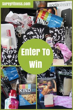 Fun giveaway for fitness items. I'm super excited about the RoadID, video and books! Easy to enter too.