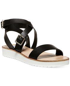 5f11182ff3c Steve Madden Women s Melllow Flat Sport Sandals - Shoes - Macy s Steve  Madden