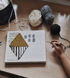 Punch needling: een nieuwe vorm van borduren