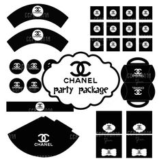 CHANEL party package by ceremoniaGlam on Etsy, $10.00