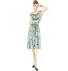 Awesome Vogue sewing pattern, #8728. Great in a breezy cotton or dressy in special occasion fabrics.