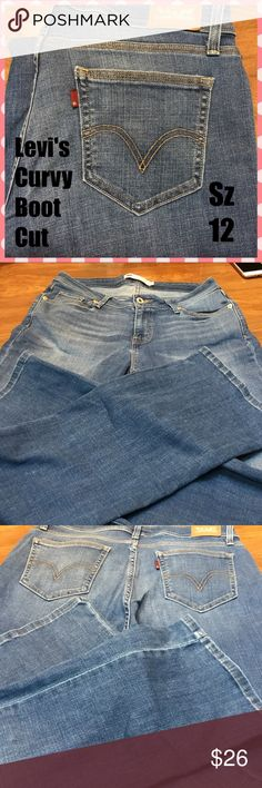 👖Levi's Curvy Bootcut 529 Excellent condition, Boot cut jeans.  See sizing photos for specific measurements.   ❤️Suggested User 👍Fast Shipping 💋Top Rated Seller Levi's Jeans Boot Cut