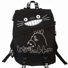 Anime Cartoon Totoro Backpack Black Butler Naruto One Piece Bag Multi  Schoolbag Student Oxford School Bags b58f30f93d