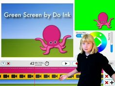 iPad Green Screen from Do Ink (Paperless Classroom)