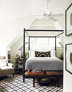 Canopy bed #bedroom décor, beds, headboards, four poster, canopy, tufted, wooden, classical, contemporary bedroom, nightstand, walls, flooring, rugs, lamps, ceiling, window treatments, murals, art, lighting, mattress, bed linens, home décor, #interiordesign bedspreads, platform beds, leather, wooden beds, sofabed