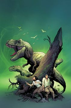 Where Monsters Dwell by Frank Cho, colours by Jason Keith