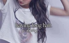 More like wanting long hair