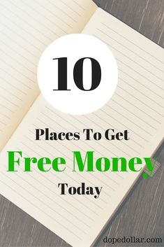 Need money now? Check out these 10 places to get free money right now. Click her. - Finance tips, saving money, budgeting planner Make Money From Home, Way To Make Money, Make Money Online, Money Tips, Money Saving Tips, Need Money Now, Money Today, Financial Tips, Money Matters