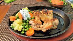 Vaříme bez tuku: Kuřecí gyros steak na litinové pánvi