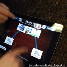 Use the digital animation app with students to incorporate technology into your drama, media literacy and writing!