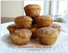 Snickerdoodle Donut Muffins _ Courtesy of; bloom designs