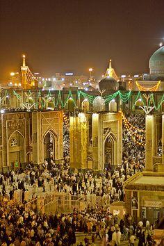 The Holy Mashhad . Iran