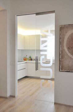 porta scorrevole a scomparsa vetro - Cerca con Google Contemporary Interior Design, Home Interior Design, Interior Architecture, Interior Decorating, Chinese Interior, Home Decoracion, Home Upgrades, Open Plan Kitchen, Fashion Room