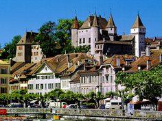 Nyon, Switzerland, la vieille ville  A place from my early years...