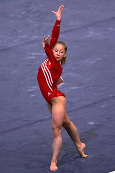 Shawn Johnson.  i think i've probably pinned like 15 pics of Shawn alone