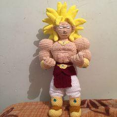 Un favorito personal de mi tienda de Etsy https://www.etsy.com/mx/listing/504455242/broly-ssj3-amigurumi-crochet-dragon-ball