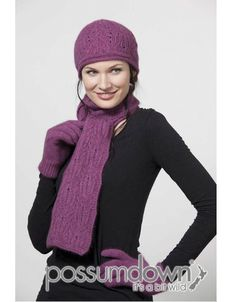 I found this on www.possummerinonz.com Chunky Cable Beanie