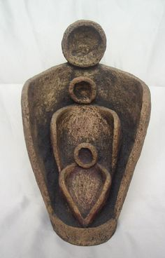 """triple"" ceramic sculpture - üçleme seramik heykel"