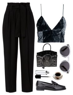 """""""Untitled Set #262"""" by sofialucja ❤ liked on Polyvore featuring A.L.C., Opening Ceremony, Yves Saint Laurent and Illesteva"""