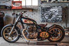 Bobber Bikes, Cafe Racer Bikes, Bobber Motorcycle, Bobber Chopper, Honda Motorcycles, Cars And Motorcycles, Custom Bikes, Custom Cars, Cool Bikes