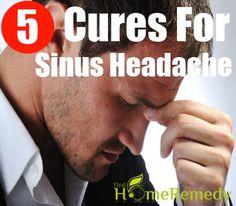 5 Natural Cures For Sinus Headache