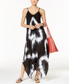 d148a7ad040 Raviya Tie-Dye Handkerchief Maxi Dress Cover-Up   Reviews - Swimwear - Women  - Macy s. Hankerchief DressBlack MediaDress CollectionCover ...
