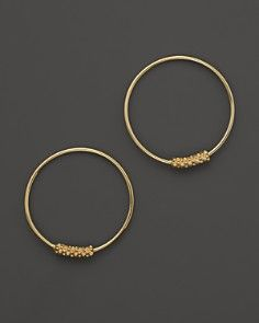 Lagos 18K Gold Hoop Earrings