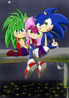 :.Sonic Underground Brake.: by PhoenixSAlover on DeviantArt