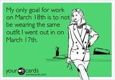 St. Patrick's Day humor.