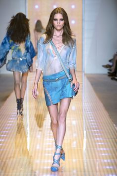 #Top#Skirt- Versace Women's Spring Summer 2013 (a favourite VIP fashion au repin of www.vipfashionaustralia.com )