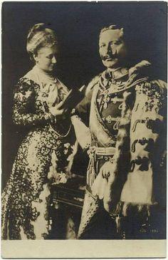 In 1881, Wilhelm married Augusta Viktoria of Schleswig-Holstein. The couple had 7 children: Wilhelm, Eitel, Adalbert, August, Oskar, Joachim & Viktoria.