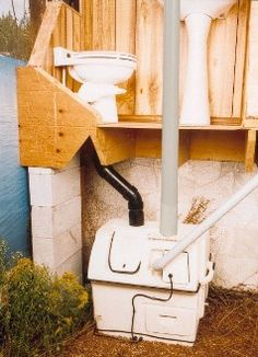 Centrex 1000 AC/DC Central Composting Toilet System