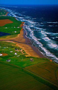 Northern coastline, Prince Edward Island - Canada