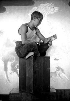 leonard fujita   藤田嗣治(レオナール・フジタ、1886-1968)は ...