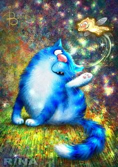 Cats With Cucumbers I Love Cats, Crazy Cats, Image Chat, Creation Photo, Gatos Cats, Cat Colors, Blue Cats, Cool Pets, Cat Drawing