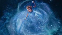 Cinderella 2015 dress transformation