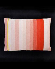 Pale red cushion by Scholten & Baijings