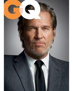 GQ - Jeff Bridges is a hippie boss Jeff Bridges, Lloyd Bridges, Gorgeous Men, Beautiful People, Gq Magazine, Magazine Covers, Gq Men, Older Men, Best Actor