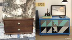 Bruna Rebouças: Reformas em móveis de madeira