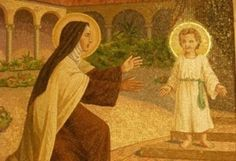 teresa of jesus | Teresa of Avila with Child Jesus