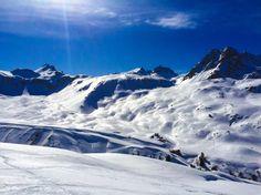 Le #Mont #Thabor et le #Cheval #Blanc à #Valfréjus