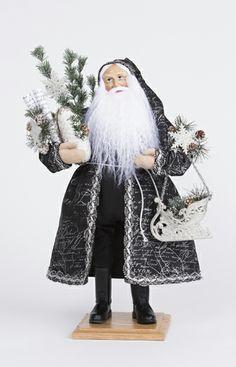 Father Christmas, White Christmas, Vintage Christmas, Christmas Ideas, Old World Christmas Ornaments, Santa Baby, Vintage Santas, Winter Holidays, Twinkle Twinkle