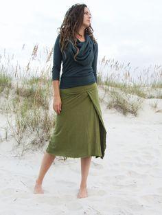 Faux Wrap Skirt: Gaia Conceptions