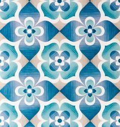 these colors together for livingroom Deco Floral, Motif Floral, Floral Design, Motif Vintage, Vintage Patterns, Retro Wallpaper, Pattern Wallpaper, Retro Pattern, Pattern Art