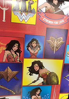 Wonder Woman Wrapping Wrap paper Party Gift Decoration Marvel Heroes SQR - World of Action City Book Lovers Gifts, Book Gifts, Gift Wrapping Supplies, Wrapping Papers, Wrapping Ideas, Balloons And More, Globe Art, Latex Balloons, Little Books