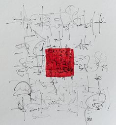 Karin Holdegaard - Asemic writing why? very well placed focal point created using strong colour Graphic Score, Artist Sketchbook, Writing Art, Typography, Lettering, Calligraphy Letters, Art Abstrait, Art Graphique, Ink Illustrations