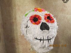 Excited to share this item from my #etsy shop: Day Of The Dead Pinata - El Dia de los Muertos Pinata -  Skull Pinata - Halloween Pinata