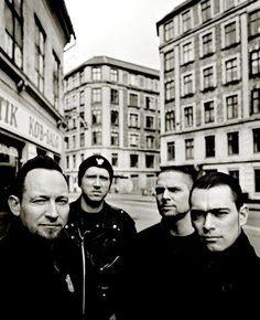Volbeat....Tied with my favorite band!  Michael and Anders...so sexy!